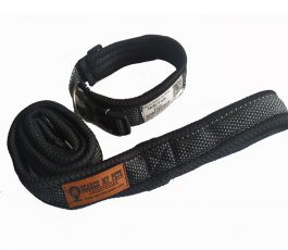 Smart collar belt and leash with comfortable padding
