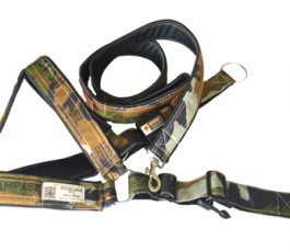 Smart Harness Army Print with Leash