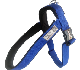 Blue 1.5 Inch Smart Dog Harness, Dog Tracking Harness
